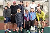 Vítězem 13. ročníku turnaje v malé kopané Michálek Cup se stal tým s názvem Východní Německo.