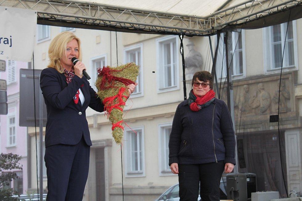 """Jihočeský festival zdraví v Třeboni měl tentokrát podtitul """"Srdeční záležitost""""."""
