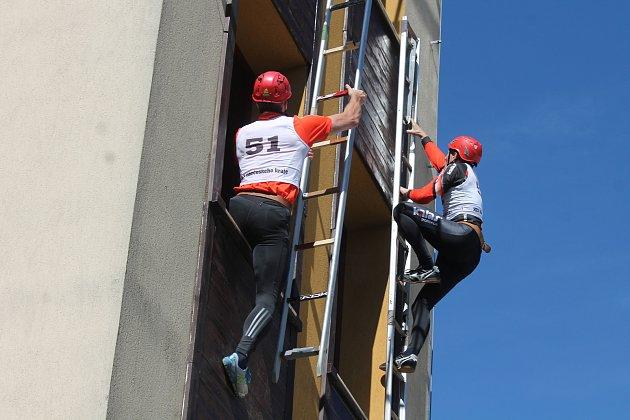Krajské klání sedmi jihočeských hasičských týmů se v roce 2017 konalo v Jindřichově Hradci.