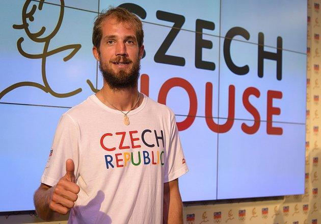 Olympionik a českobudějovický rodák Karel Lavický zYC DIM Bezdrev.