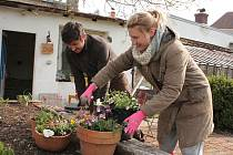 Areál Krafferova zahrady u hradeckého gymnázia bude do budoucna sloužit veřejnosti i třeba žákům a studentům.