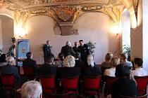 Slavnostní předávání ocenění Mezinárodní policejní asociace IPA.