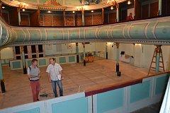 V třeboňském divadle dochází k rekonstrukci hlediště.