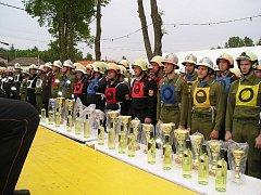 Hasiči z Českého Rudolce a z Markvarce přijeli do Peigartenu na Okresní hasičské závody.