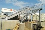 U třeboňské Aurory se buduje přístavba wellness centra. Hotovo by mohlo být koncem října.