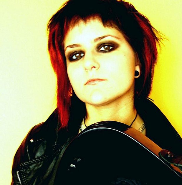 Muzikantka Martina Vomastková.