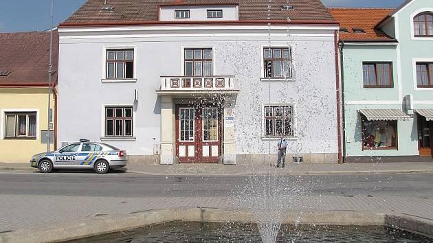 Sídlo obvodního oddělení v Dačicích.