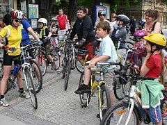 Cyklistická sezona v Jindřichově Hradci začala.