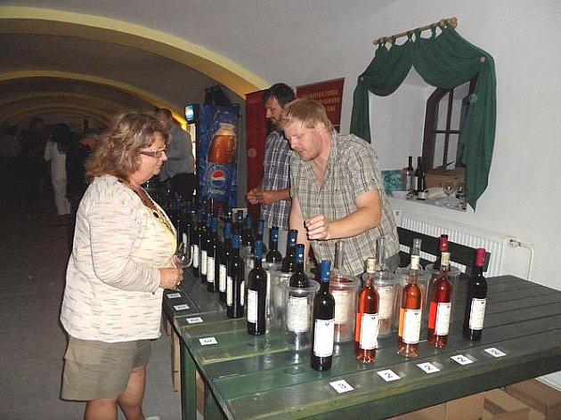 V Třeboni lidé ochutnávali moravská vína.