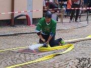 Jindřichohradecká hasičská liga pokračuje v Kunžaku. Snímek je z Mrákotína, kde hasiči soutěžili minulý víkend.