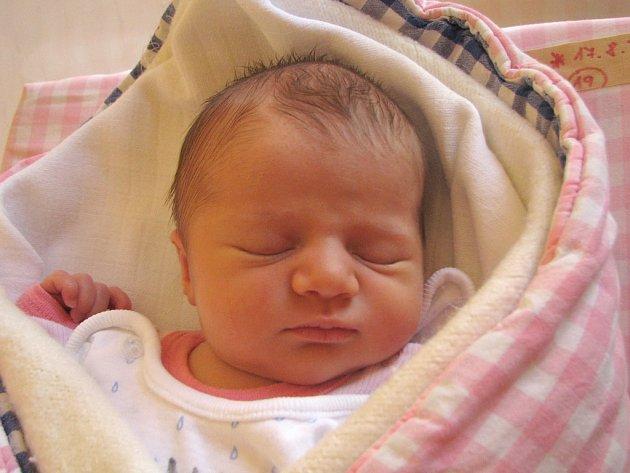 Dominika Čechová ze Studené se narodila 17. srpna 2012 Štěpánce a Markovi Čechovým. Měřila 51 centimetrů a vážila 3560  gramů.
