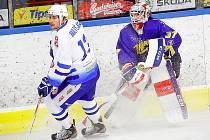 Hokejisté Vajgaru podlehli v I. kole II. ligy Vrchlabí 1:2 na nájezdy.
