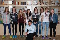 Třetí místo v České republice získaly žákyně Základní školy Na Sadech v Třeboni.