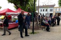 Farmářský trh v Dačicích.