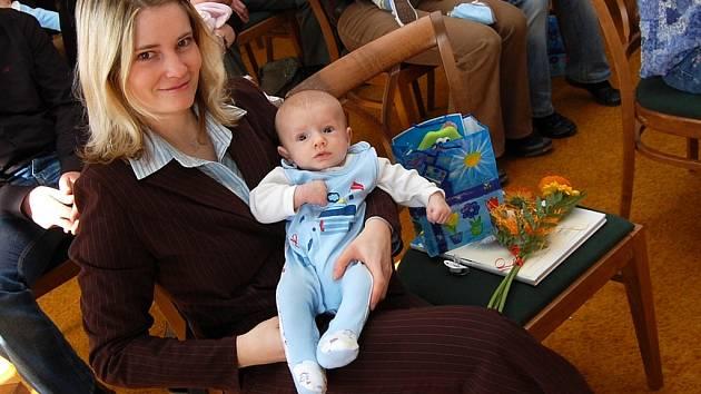 Vítání nových občánků Jindřichova Hradce 3. dubna 2009
