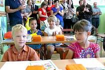 Nový školní rok zahájili v Jarošově nad Nežárkou.