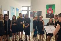 Otevření Základní umělecké školy v Nové Včelnici.