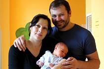 Šimon Lojka se narodil 18. prosince ve 22 hodin a 57 minut Renatě Plucarové a Radimu Lojkovi z Radlic. Vážil  3120 gramů a  měřil 51 centimetrů..