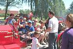 Den dětí v Branné byl tradičně pod taktovkou místních hasičů.