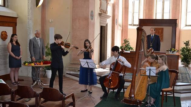 Závěrečný koncert festivalu se uskuteční v pátek od 19 hodin na zámku v Jindřichově Hradci.