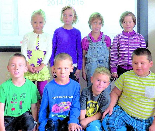 Prvňáčci z Lodhéřova.