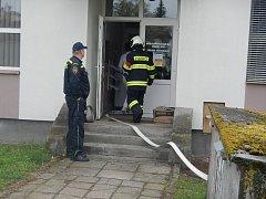 Ve středu do jindřichohradecké nemocnice přijeli hasiči, naštěstí požár nebyl opravdový, jen cvičení.