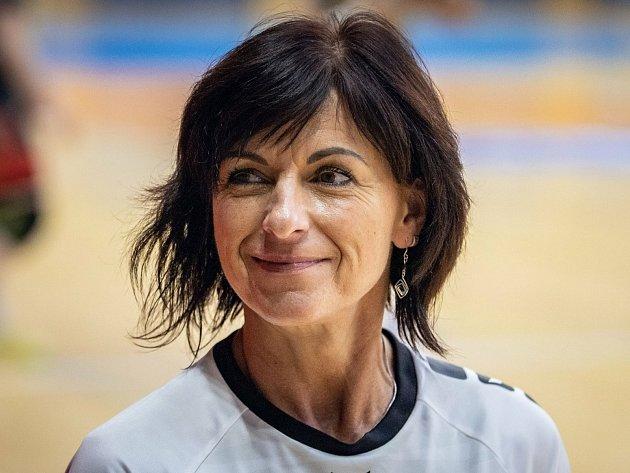 Trenérka jindřichohradeckých prvoligových házenkářek Iva Jonová.
