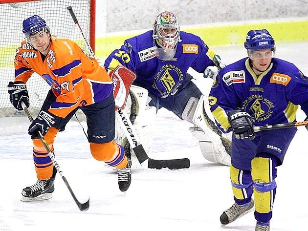 Hokejisté Vajgaru podlehli Hodonínu 2:7 a v celé sérii 1:3 na zápasy.
