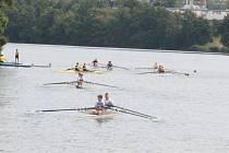 Na rybníku Vajgar se utkali veslaři.