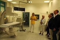 Nemocnice v Jindřichově Hradci modernizuje přístroje na radiodiagnostickém oddělení.