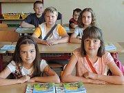 První školní den v Majdaleně.