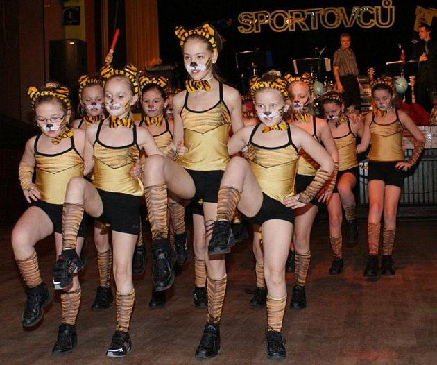 Dívky od 8 do 10 let vystupují na kulturních akcích i na soutěžích s představením Tygřice. Pro letošní školní rok každá ze čtyř věkových kategorií nacvičuje zbrusu novou pódiovou skladbu.