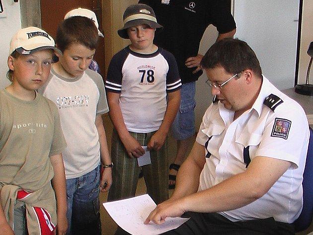 Děti na policii
