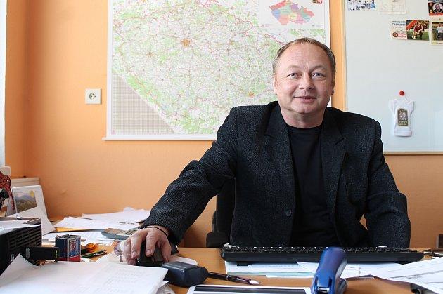 Josef Nejedlý, ředitel jindřichohradecké likérky Fruko-Schulz.