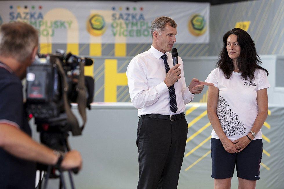 Slavnostní předání cen proběhlo v trampolínovém centru HOP arena v Čestlicích za přítomnosti předsedy ČOV Jiřího Kejvala, partnerů projektu a sportovních ambasadorů.