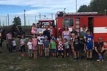 Dobrovolní hasiči z Novosedel nad Nežárkou vychovávají i mladé hasiče. Foto: Archiv SDH, Stanislav Šmíd