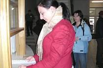Mezi nově zaevidovanými na úřadu práce byla včera i Pavlína Hazuková (na snímku).