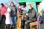 Vánoční otevřený dvůr v Plasné přiláká každoročně stovky návštěvníků.