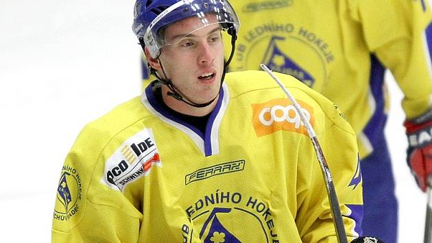 Útočník Michal Milotinský.