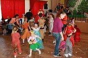Dětský karneval v Lodhéřově.