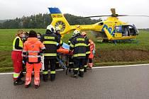 Čtvrtek přinesl hned tři dopravní nehody na Dačicku.