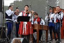 V Lomnici nad Lužnicí si užili folklorní festival