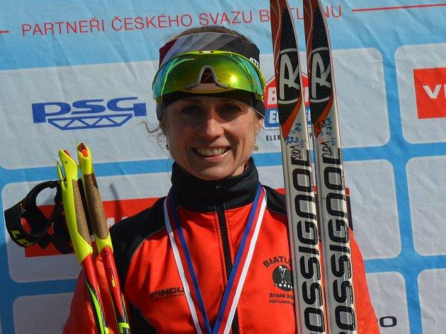 Dva tituly mistryně republiky a k tomu stříbrnou medaili vybojovala Pavla Schorná na šampionátu v Novém Městě na Moravě.