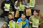 Žáci 4. ZŠ uspěli v únorových přírodovědných soutěžích.