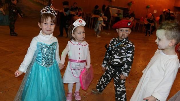 V kulturním domě v Deštné se konal Dětský masopust.