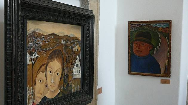 Dílo malířky Tiny Bauer – Pezellen.
