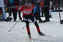 Celkem třicet ran absolvoval Luboš Schorný z KB Staré Město při dvou závodech III. kola Českého poháru v Harrachově. Osmadvacetkrát trefil přesně, minul vždy pouze jeden terč. K výtečné střelbě přidal i kvalitní běh.