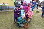 Hledání velikonočních vajíček v Kestřanech.