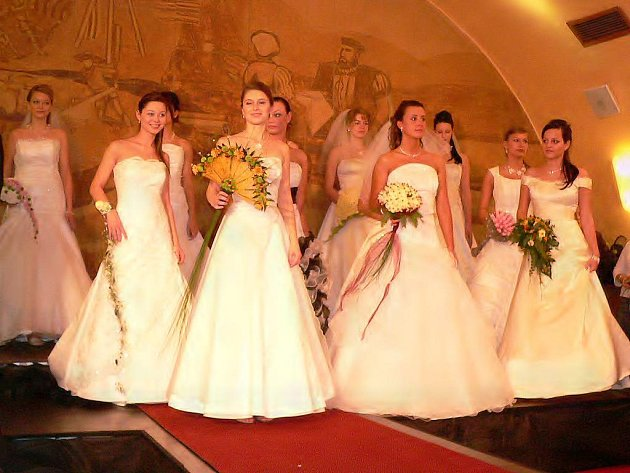Svatební veletrh, Třeboň, hotel Zlatá hvězda