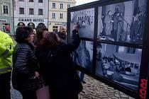 Vernisáž výstavy 30 let svobody zahájila Jindřichohradecký festival svobody.